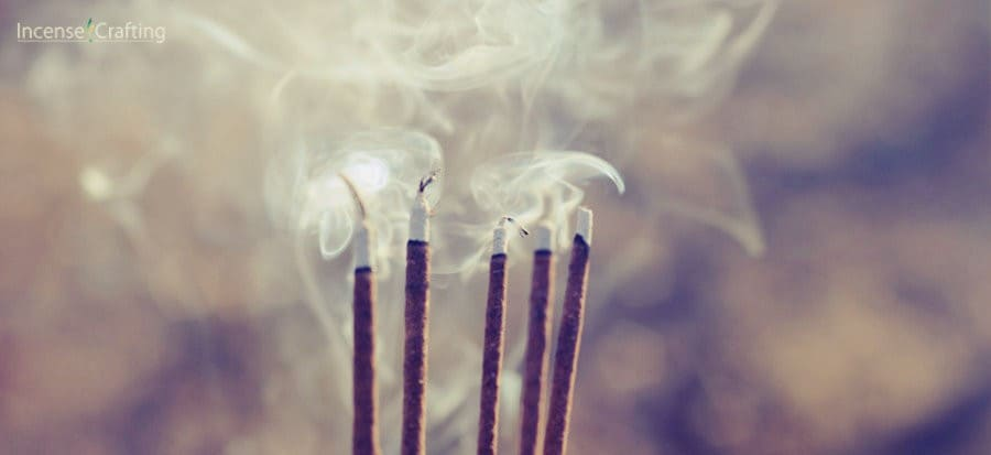 How many incense sticks to burn a day